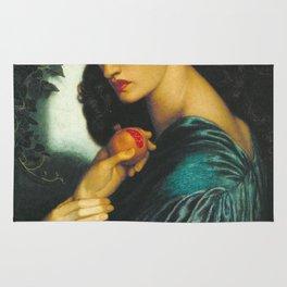 Dante Gabriel Rossetti - Proserpine Rug