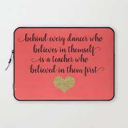 Dance Teacher Gifts Laptop Sleeve
