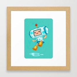 Cousin June Framed Art Print