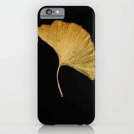 Golden Ginkgo iPhone Case
