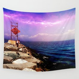 Galactic Night Wall Tapestry