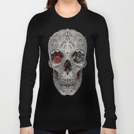 Lace Skull 2 Long Sleeve T-shirt