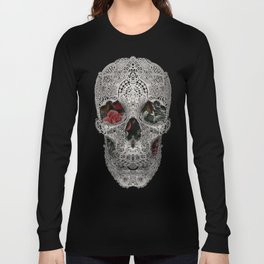 Lace Skull 2 Long Sleeve T-shirt