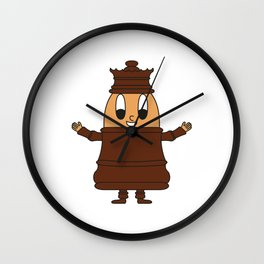 Chess-Lady Egg Wall Clock