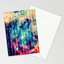 Galaxy Arrows Stationery Cards