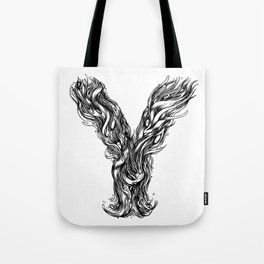 The Illustrated Y Tote Bag