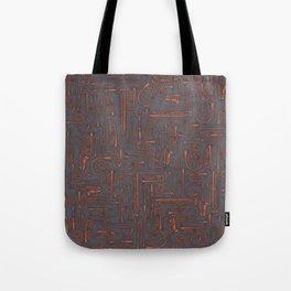 Horns COPPER Tote Bag