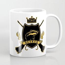 Yellow Badger Seeker Coffee Mug