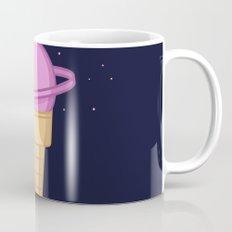 Saturn Cream Cone Mug