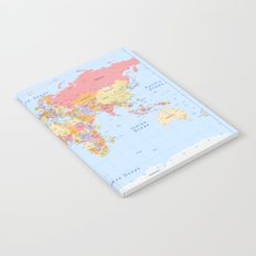 Political Map of The World - I Notebook