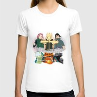 sasuke T-shirts featuring Team 7 On the Move by rendhy wahyu