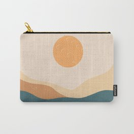Sunny Japanese landscape Carry-All Pouch
