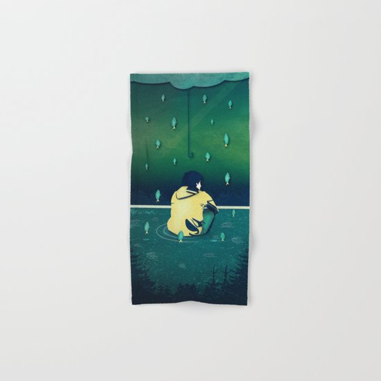 Emotion Sickness Hand & Bath Towel