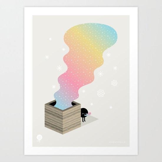 The Magic Box Art Print