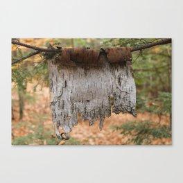 Little Clothesline (Photo) Canvas Print