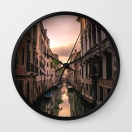 Canal of Venice Wall Clock