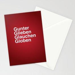 Gunter Glieben Glauchen Globen Stationery Cards