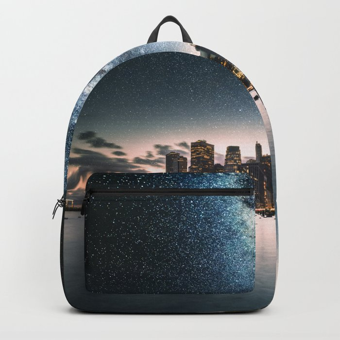 new york city under the stars Backpack