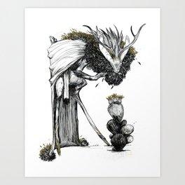 Desert Prince Art Print