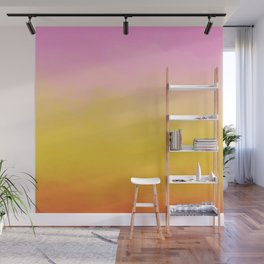 Painterly Gradient - Rich Sunset Variant Wall Mural