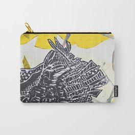Posh Paisley Carry-All Pouch