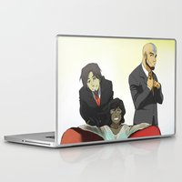 avatar Laptop & iPad Skins featuring Avatar Swag by Carishinlove