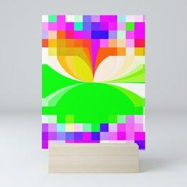 Bright Abstract Pattern Mini Art Print