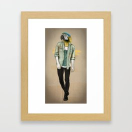 I was a Parrot before it was Cool Framed Art Print