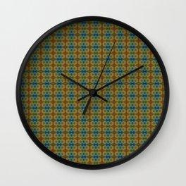 Capricorn Sun Sign Flower of Life Pattern Wall Clock
