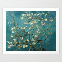 Van Gogh - Blossoming Almond Tree Art Print