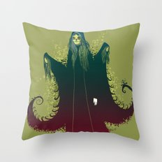 3 Witches Throw Pillow