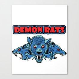 Demon Rats Canvas Print