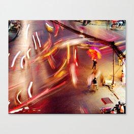 Hectic Hanoi Canvas Print
