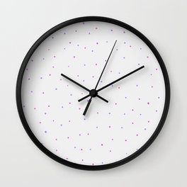 Baby polka dot Wall Clock