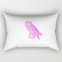 Chouette life is cruel Rectangular Pillow