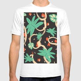Jungle pattern T-shirt