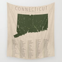 Connecticut Parks Wall Tapestry