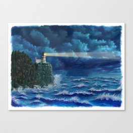 Split Rock Lighthouse, Duluth, MN Canvas Print