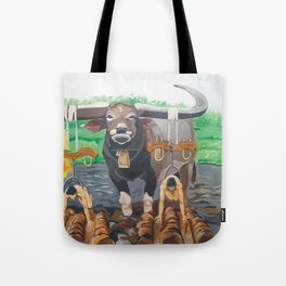 Paths in the soil Tote Bag