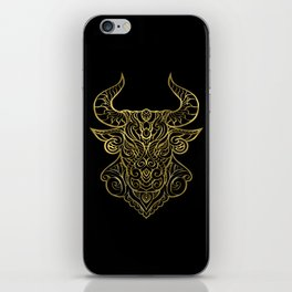 Taurus Gold iPhone Skin