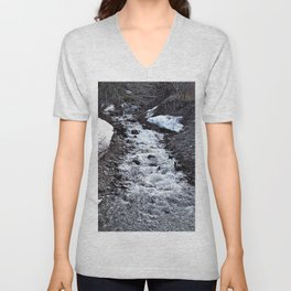 Mountain Run Off Unisex V-Neck