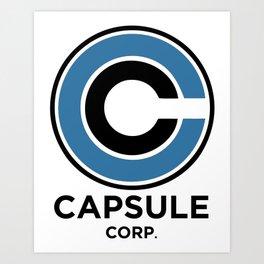 Capsule Corp Art Print