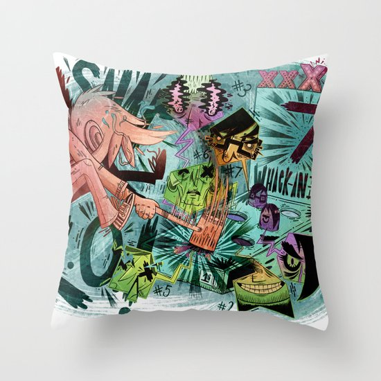 Scott Pilgrim, Fan Art Throw Pillow