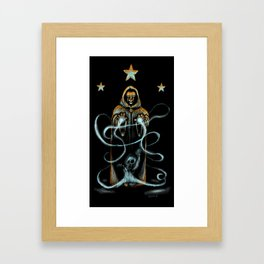 The Wizard Framed Art Print