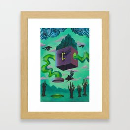 Perthro Framed Art Print