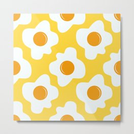 Scrambled eggs Metal Print