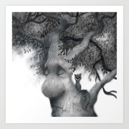 Tree Friends Art Print