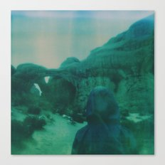 Wanderlust in Polaroid Canvas Print