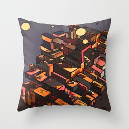 Locals Only - The Bronx, NY Throw Pillow