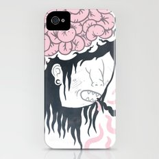 ive got worms in my head iPhone (4, 4s) Slim Case
